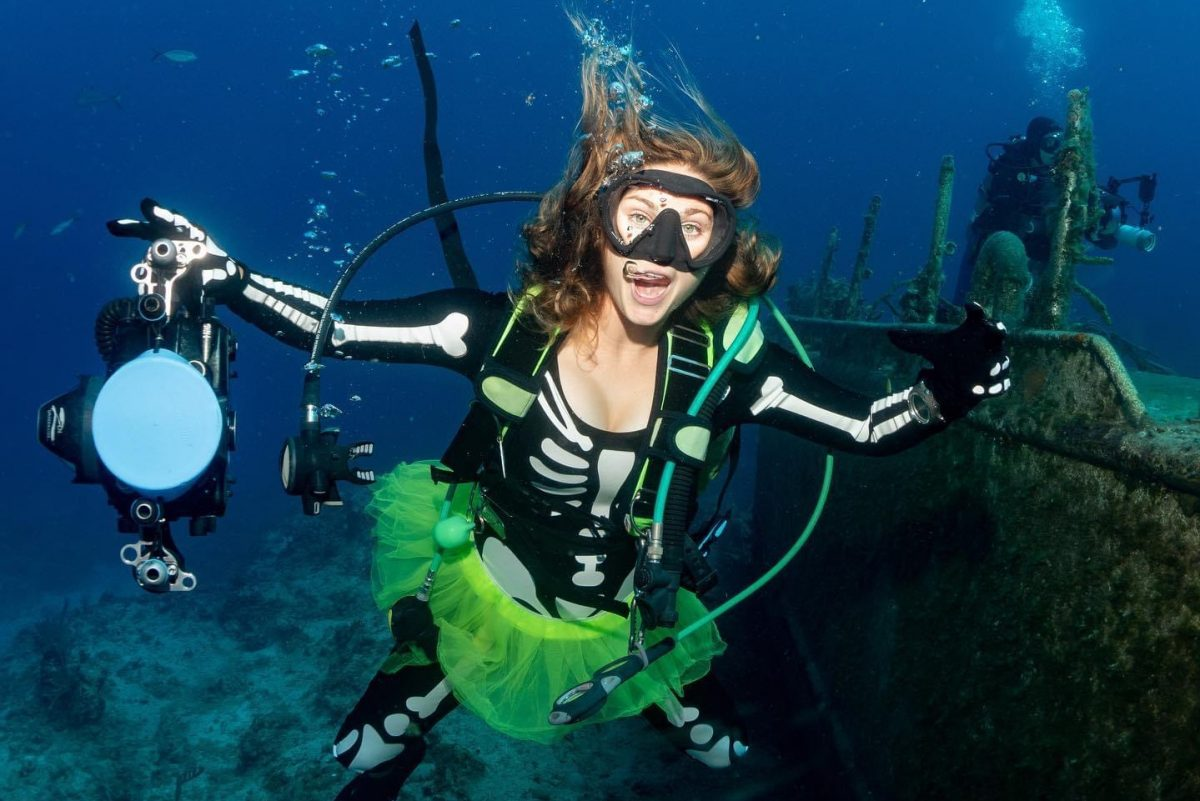 Ellen Myers, Instructor & Expedition Guide Dive Ninja Expeditions