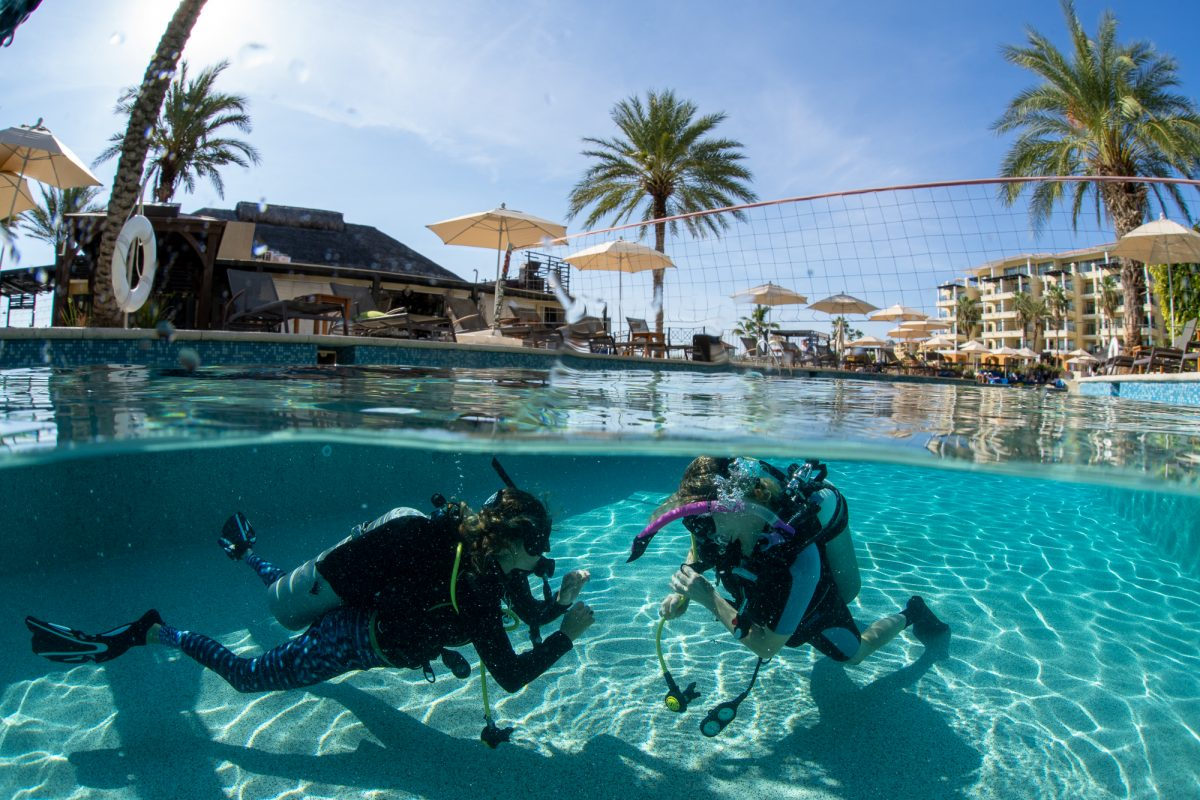 PADI IDC instructor Development Course in Cabo San Lucas, Mexico